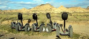 Desert des Bardenas seminaire incentive et team building espagne segway