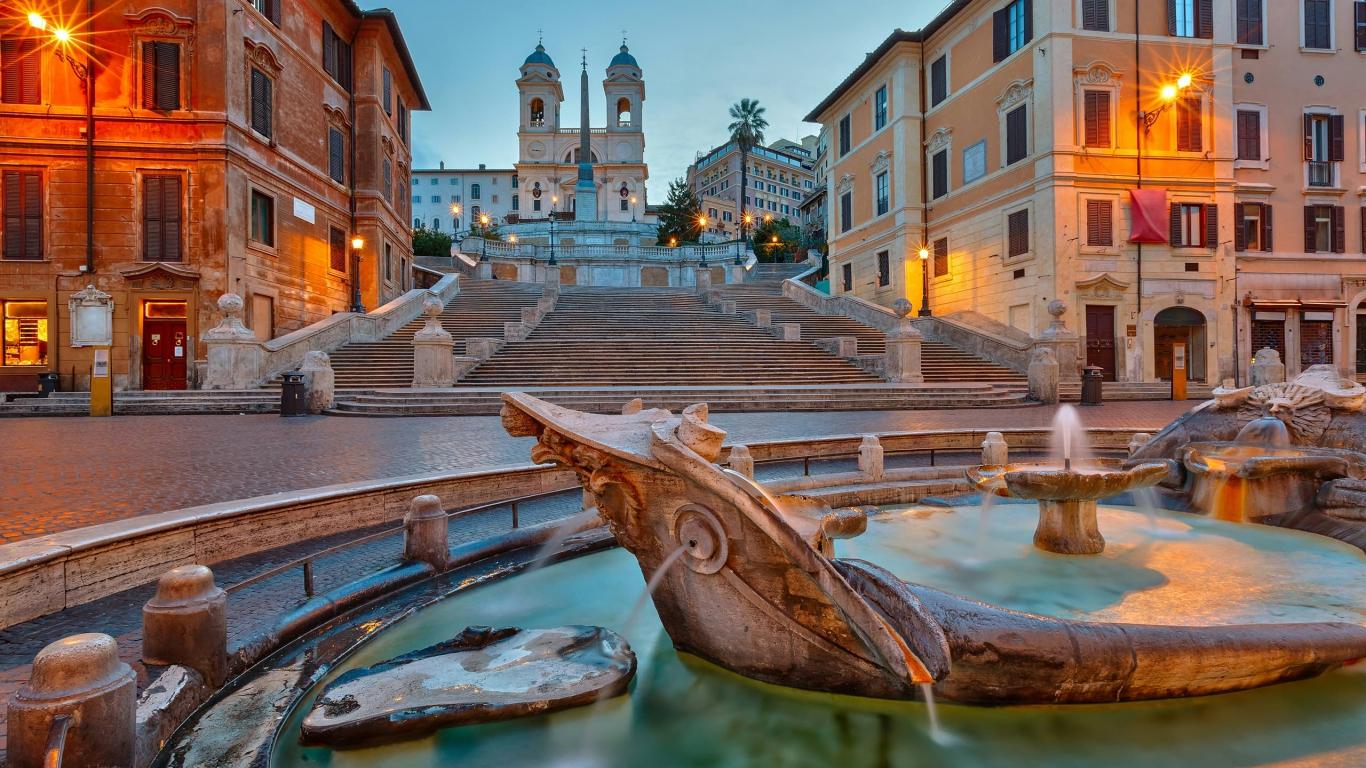 Seminaire à Rome piazza spagna