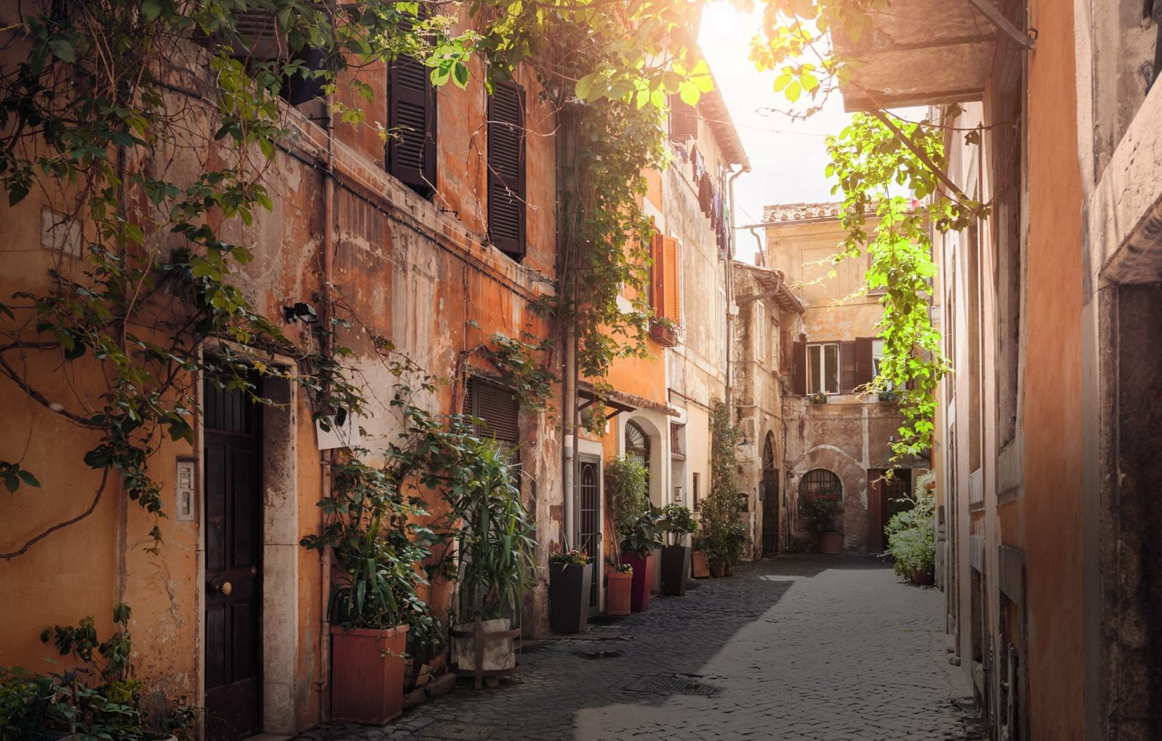 Seminaire à Rome trastevere