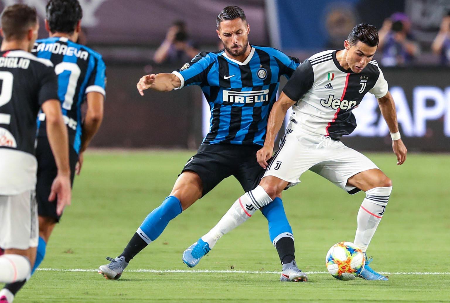 Juventus Turin-Ronaldo-Inter-Milan