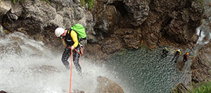 Seminaire à Marseille-canyoning-option